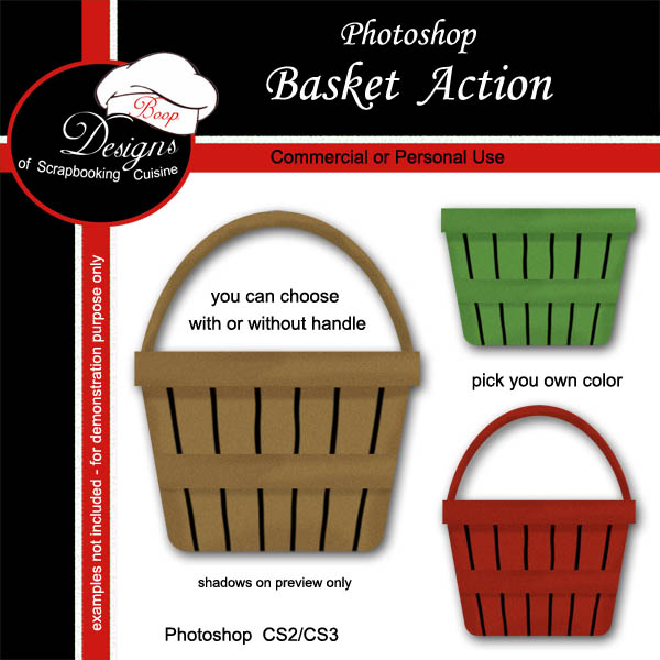 Basket by Boop Designs