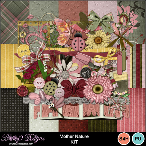 Mother Nature MEGA Kit by Boop Designs