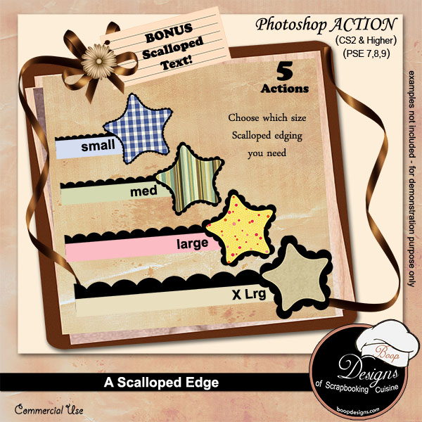 Scalloped Edge by Boop Designs