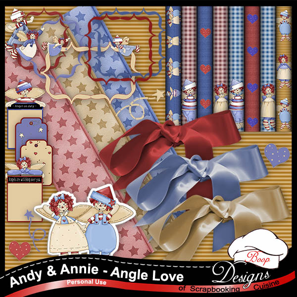Andy & Annie Angel Love Kit by Boop Designs