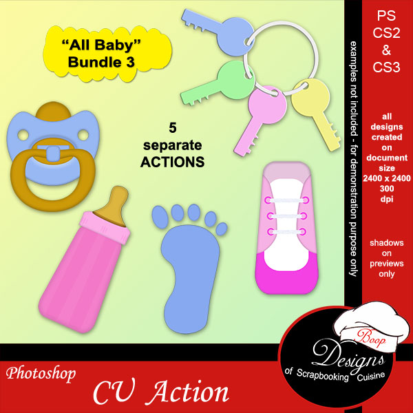 All Baby Bundle #3 by Boop Designs