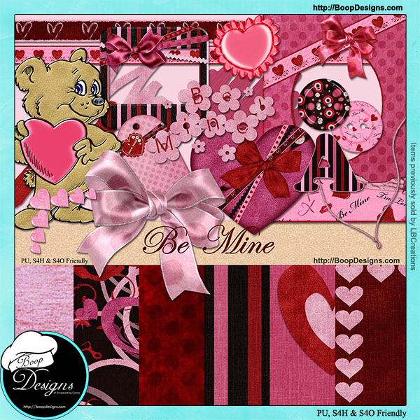 Be Mine Kit By Boop Designs