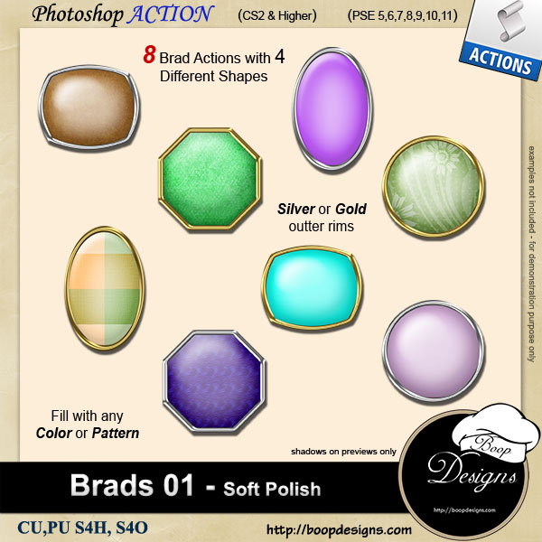 Brads 01 - Soft Polish by Boop Designs