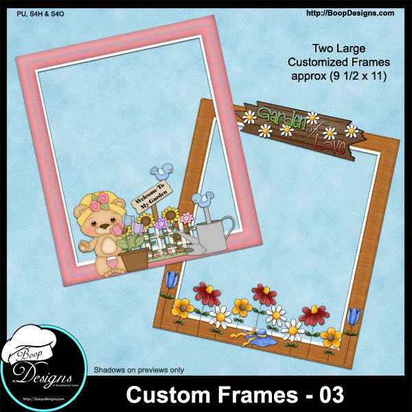 Custom Frames 03 by Boop Designs