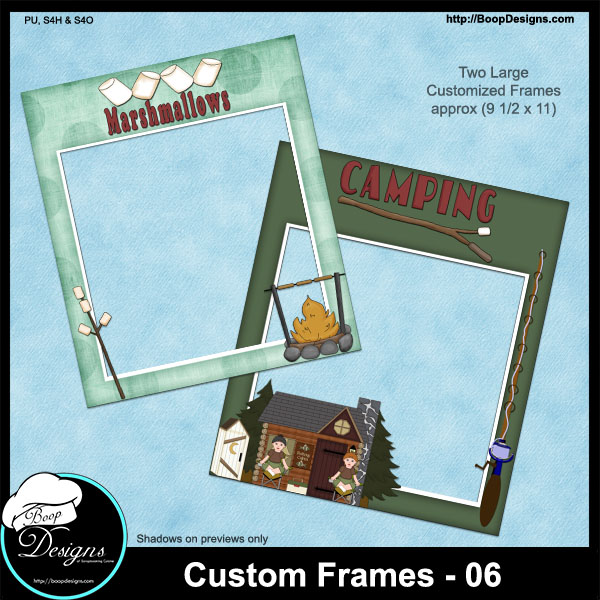 Custom Frames 06 by Boop Designs