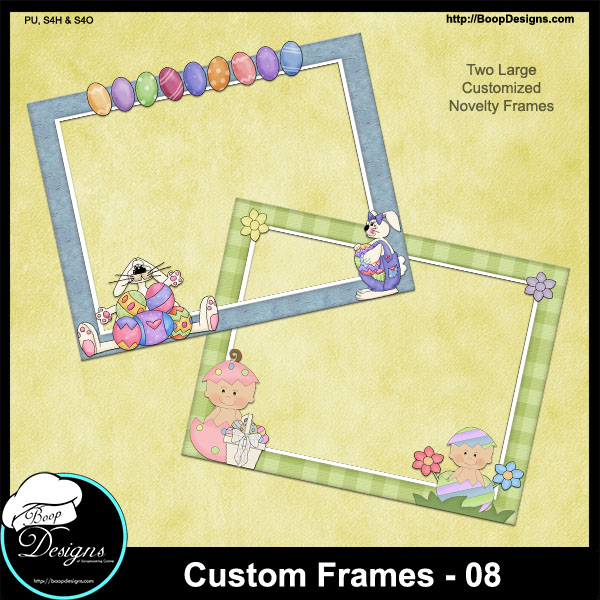 Custom Frames 08 by Boop Designs