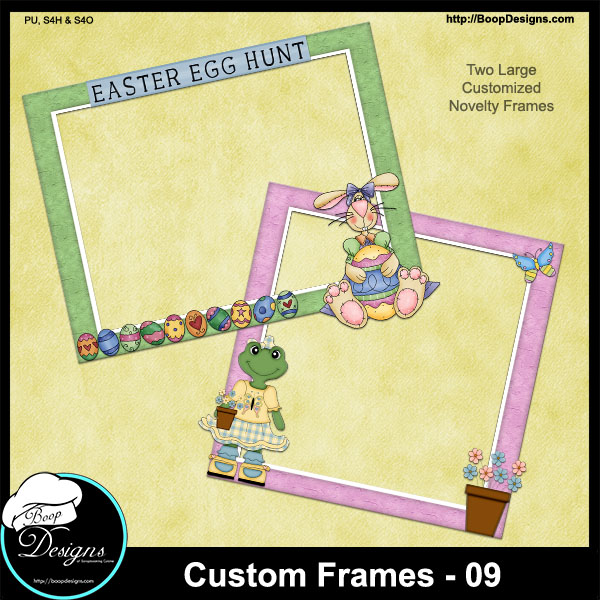 Custom Frames 09 by Boop Designs