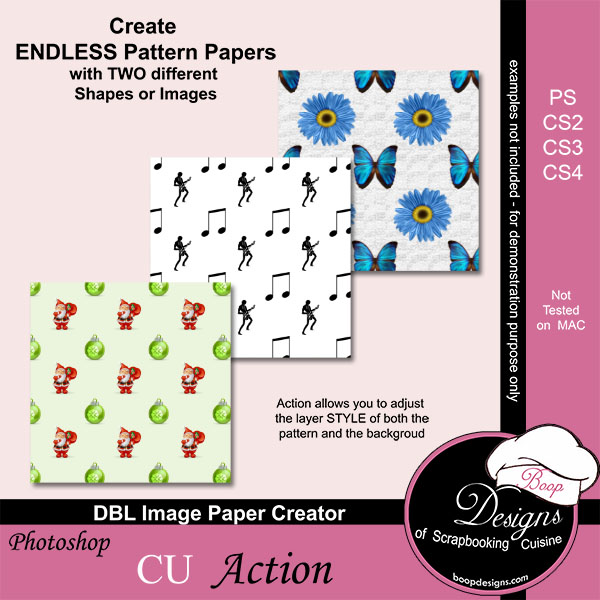 DBL Image Paper Creator by Boop Designs