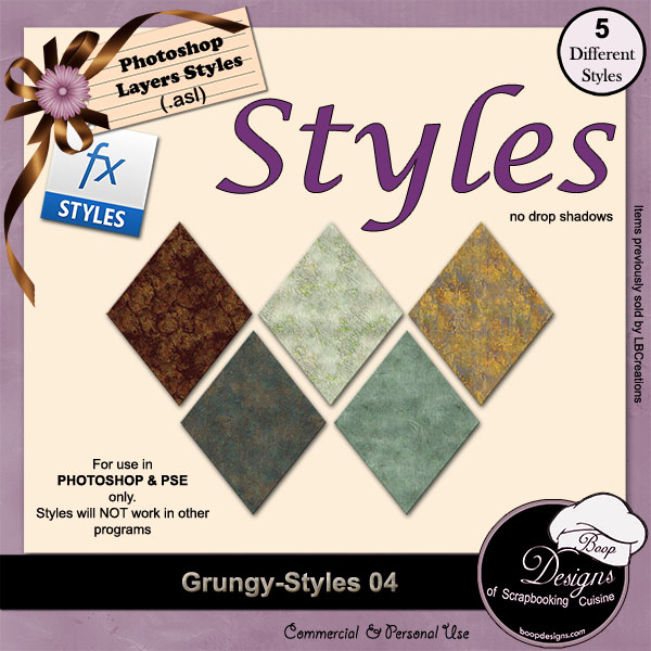 Grungy STYLES 04 by Boop Designs