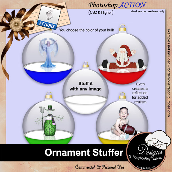 Ornament Stuffer by Boop Designs