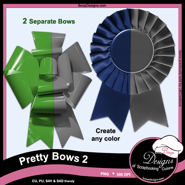 Pretty Bows 02 by Boop Designs