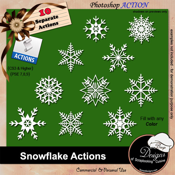 Snowflakes by Boop Designs