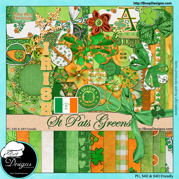 St Pats Green Kit by Boop Designs