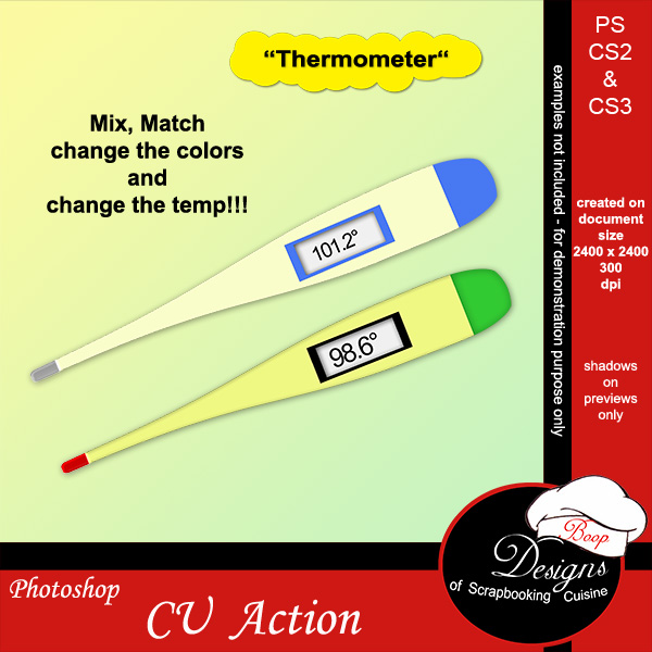 Thermometer by Boop Designs