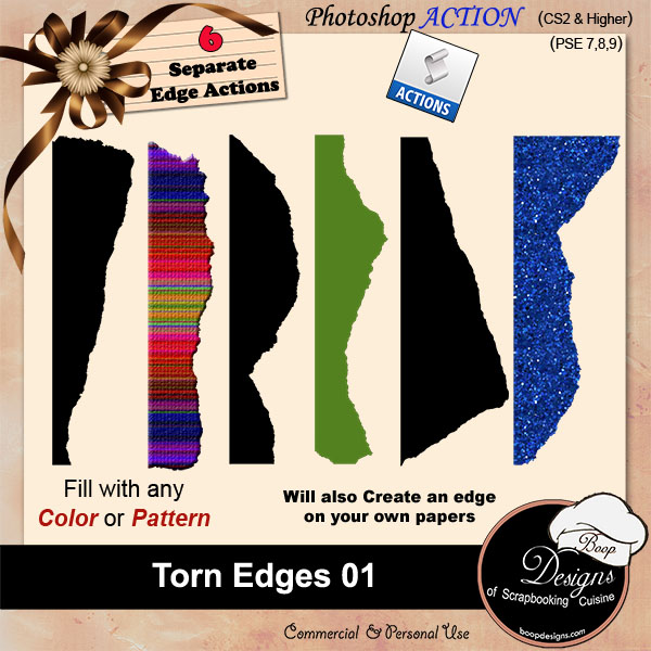 Torn Edges 01 by Boop Designs