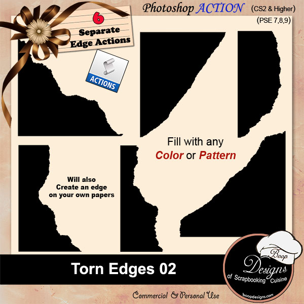 Torn Edges 02 by Boop Designs
